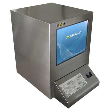 Armadio stagno porta PC in acciaio inox Armagard per la protezione dei vostri computer aziendali