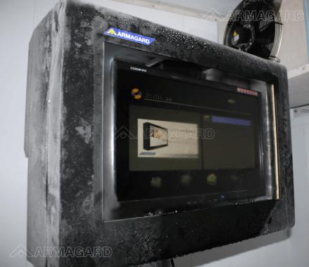 Installazione di un LCD enclosure - Installazione per Digital Signage Titolo