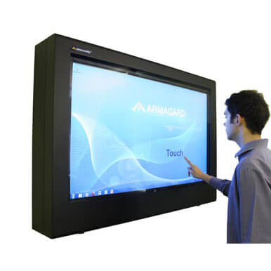LCD Touch screen outdoor | Pubblicita' su monitor con tecnologia touch screen