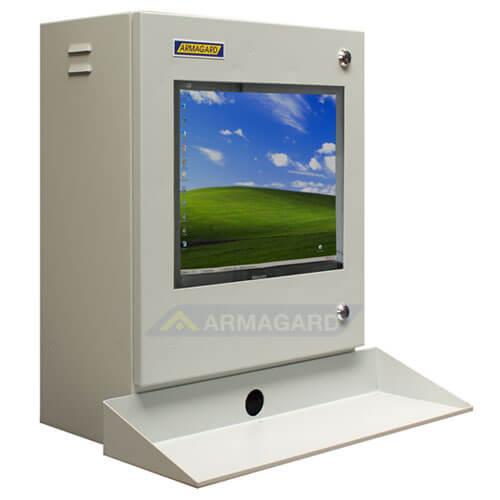 Armadio LCD porta computer - immagine laterale destra