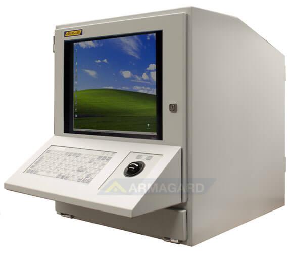 armadio compatto porta computer - con tastiera e trackerball opzionali