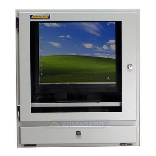 armadio compatto porta computer - immagine frontale