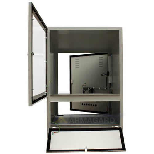 Armadio porta computer - immagine frontale