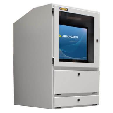 Armadio porta computer Armagard ideale in ambito industriale