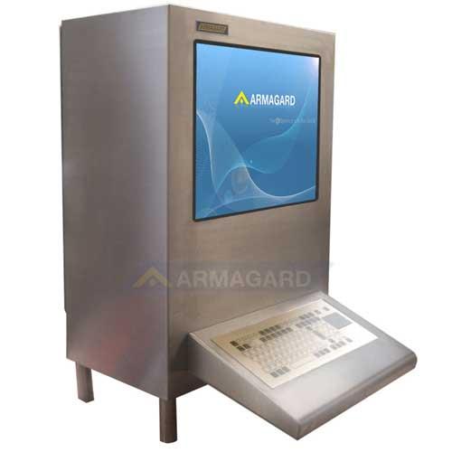 Armadio ermetico porta computer - immagine laterale
