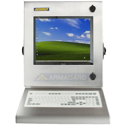 Armadio Stagno LCD con tastiera integrata - immagine frontale