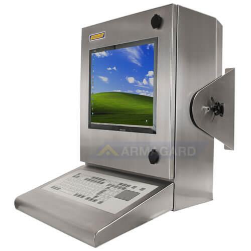 Armadio Stagno LCD - immagine laterale