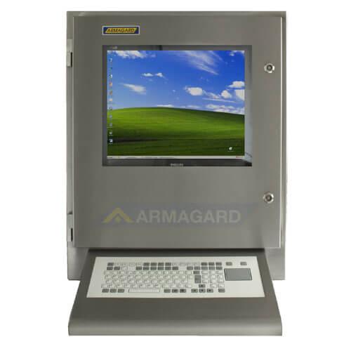 Armadio stagno porta computer IP65 (waterproof computer enclosure)con tastiera integrata