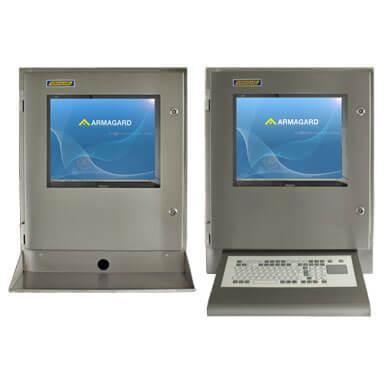 Armadio stagno porta computer IP65 idealein ambito industriale