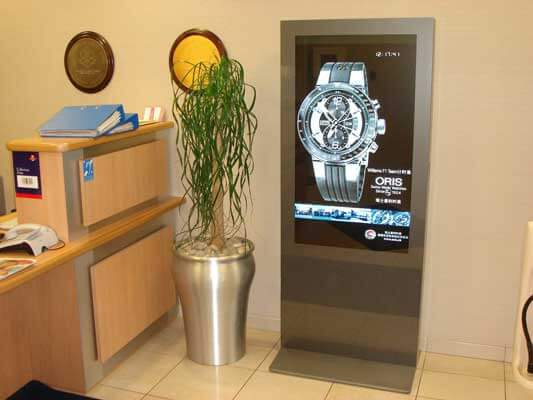 Totem Digital signage- ideali per gioiellerie