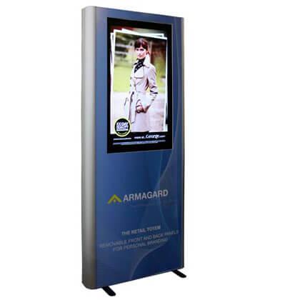 Totem pubblicitari digital signage | Espositori pubblicitari digital signage per negozi