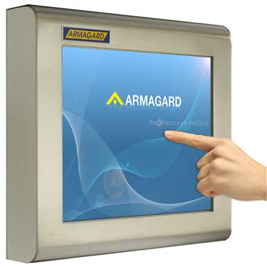 touch screen monitor impermeabile ideale in ambito industriale