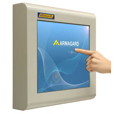 Touch screen monitor industriali