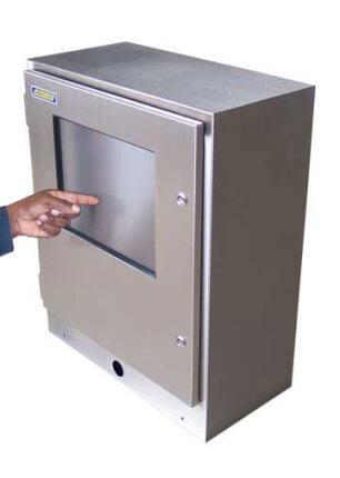 Armadio stagno per touch screen