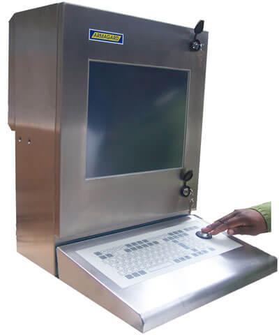 SENC-350 Touchscreen e tastiera