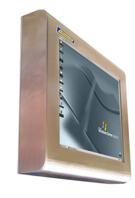 wTouch screen impermeabili
