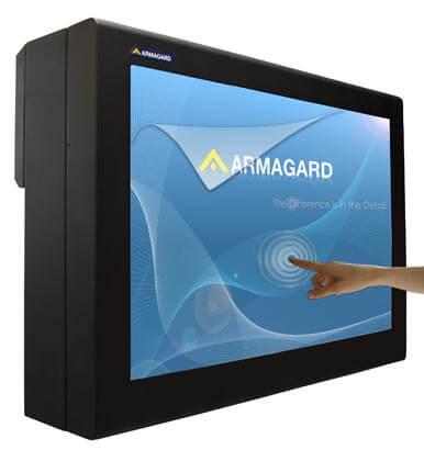 LCD touch screen outdoor per pubblicita' su monitor PDS-Series-EU