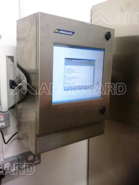 LCD enclosure in custodia impermeabile formazione per parco giochi